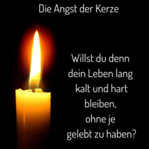 Geschichte-Angst der Kerze