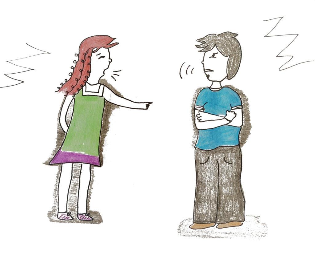 das-innere-Team-Frau-Konflikt-وداع با خشم و خشونت بچه های درونمان