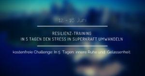 Resilienz-Training: In 5 Tagen den Stress in Superkraft umwandeln