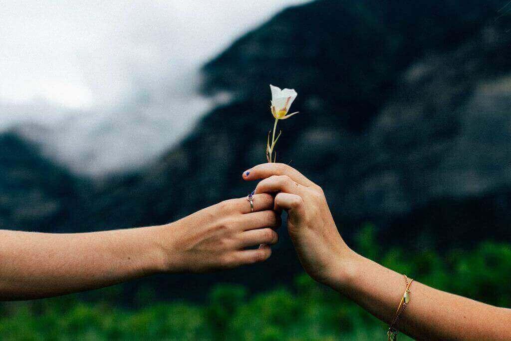 Weltfrieden-Frieden bewirkt Liebe