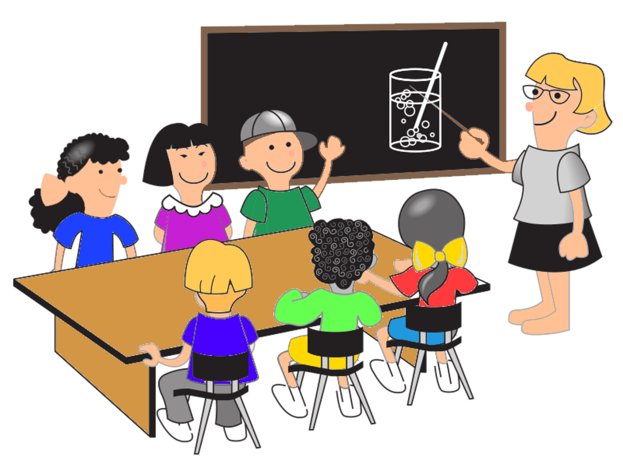 Schule-Lehrer