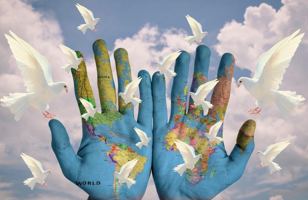 Welt-Frieden-Weltfrieden