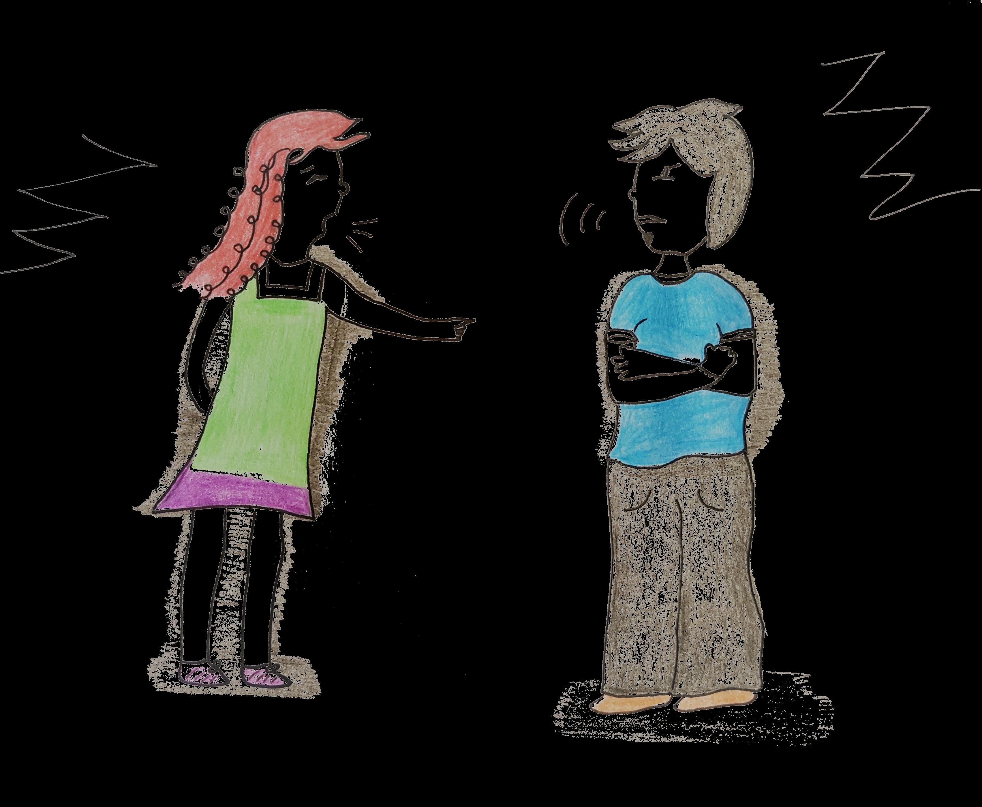 innerer Kritiker-Konflikte
